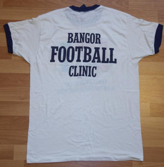 Vintage 80's Pepsi Generation Bangor Maine Football T-Shirt