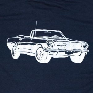 Vintage 1980s Ford Mustang Muscle Car Screen Stars T Shirt