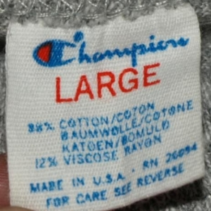80s Champion Rayon Blend Northeastern Athletics T-Shirt