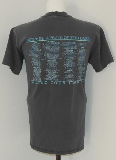 Vintage 1980's Robert Cray Band Concert Tour T-Shirt 1989
