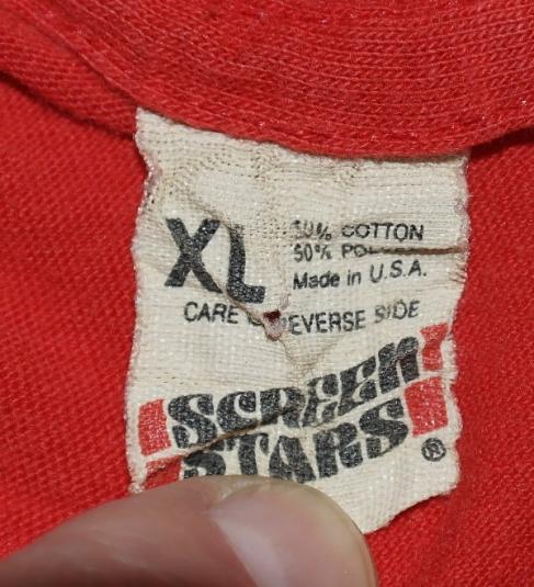 Vintage 1980's LINUS Peanuts Screen Stars T-Shirt