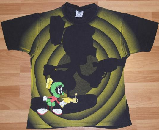 VTG 1990s Looney Tunes Marvin The Martian All-Around T-Shirt