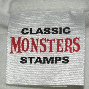 Vintage 1990s Boris Karloff Frankenstein US Stamp T-Shirt