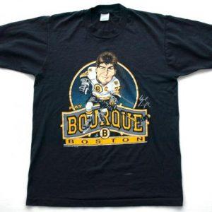 1980s RAY BOURQUE Boston Bruins Caricature Tee
