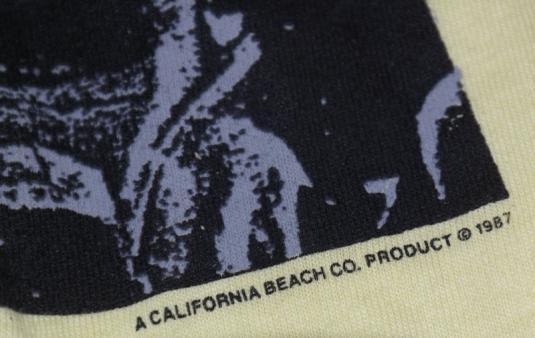 Vintage 1987 California Beach Company Surfing T-Shirt 80s