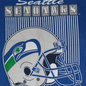 Vintage 1980s Seattle Seahawks NFL Football T-Shirt