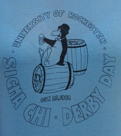 1982 Sigma Chi Drunk Penguin University of Rochester