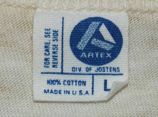 Vintage 1980s SNOOPY Baseball Raglan Shirt 80s
