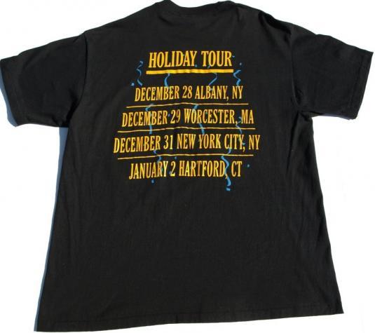 Vintage MICHAEL BOLTON Holiday Christmas Concert Tour Shirt