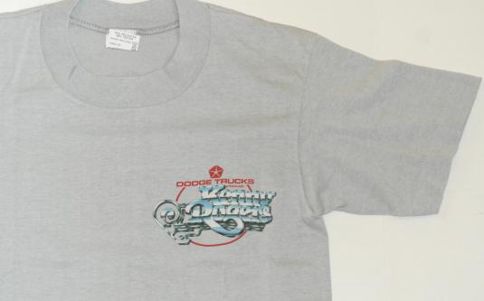 Vintage 1984 KENNY ROGERS Dodge Truck Tour Concert Shirt