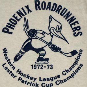 Vintage 1970s Phoenix Roadrunners Hockey Raglan T-Shirt