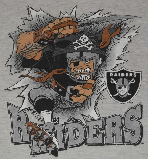 Vintage LA Los Angeles Raiders NFL Football T-Shirt 90s