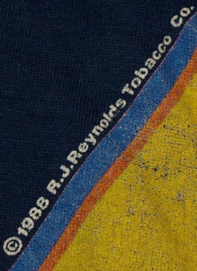 1988 Joe Camel Cigarette Anniversary Blue T-Shirt