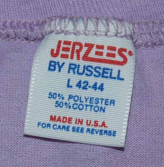 Vintage 1980's New Hampshire Moose Purple Soft Thin T-Shirt