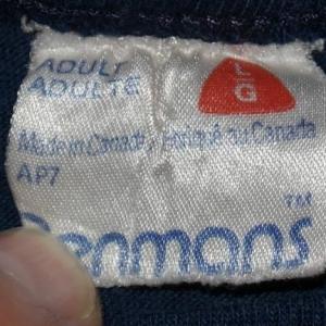 Vintage 1980s Banff National Park Canada Navy Blue T-Shirt