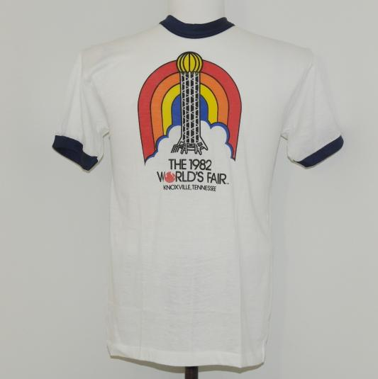 Vintage 1982 Knoxville Tennessee World's Fair T-Shirt 1980s