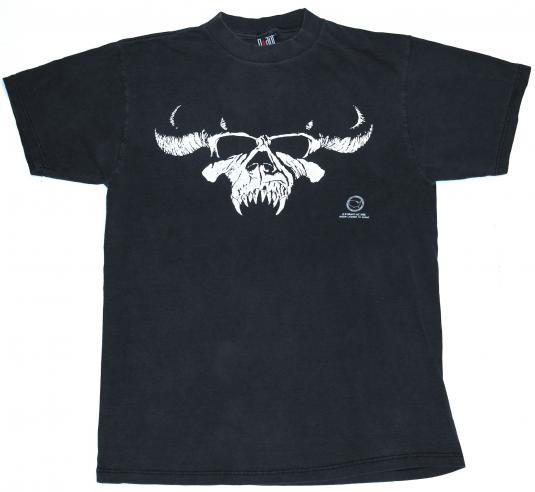 ORIGINAL VINTAGE 1988 DANZIG 1980's Metal T-Shirt