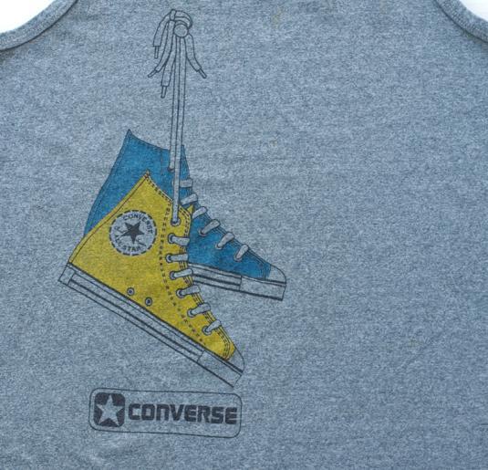Vintage CONVERSE Chuck Taylor Sneaker Tank Top Shirt