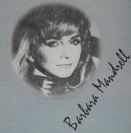 Vintage Barbara Mandrell Concert T-Shirt Country Music Tee