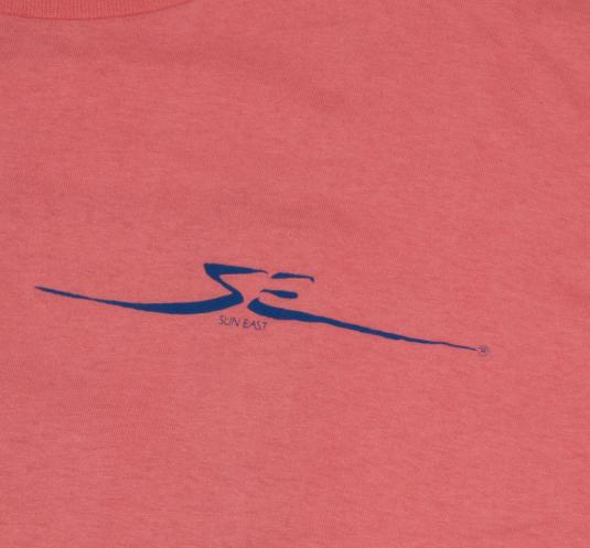 Vintage 1988 80's Sun East Windsurfing T-Shirt