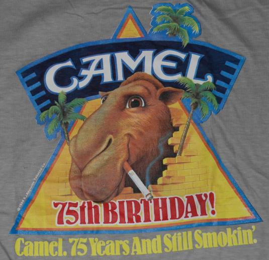 VTG 1980s JOE CAME Cigarettes DEADSTOCK T-Shirt NEVER WORN