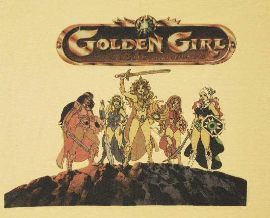 Vintage 1980s GOLDEN GIRL Guardians of Gemstones T-Shirt