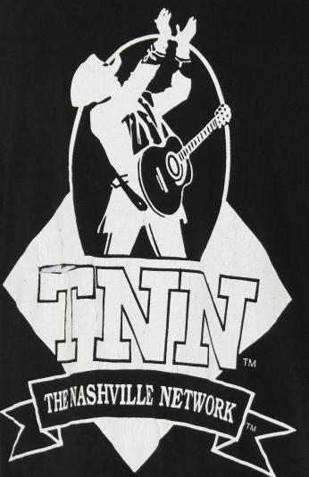 Vintage 90's TNN The Nashville Network Country Music T-Shirt