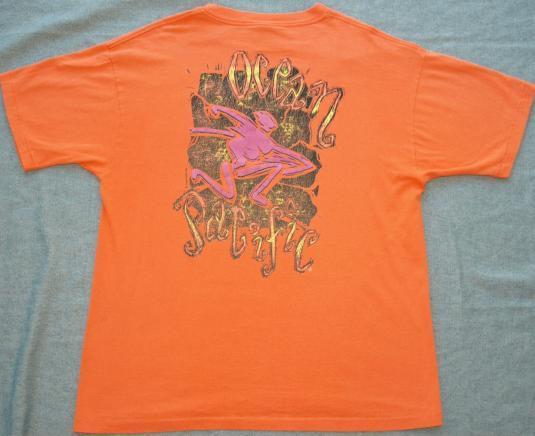 Vintage Ocean Pacific OP Surfing Skateboarding Beach T-Shirt