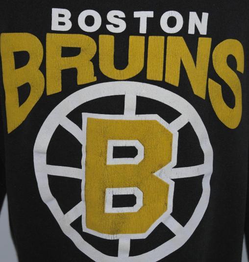 Vintage 1980's BOSTON BRUINS Sweatshirt NHL Hockey 80s