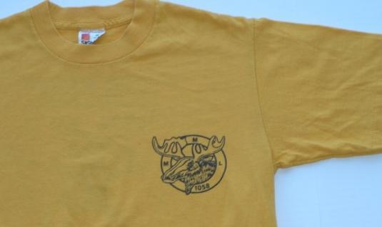 1980s Super Moose Lodge Marathon Florida Shirt