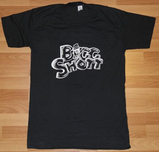 Vintage 1980s BIGG SHOT Rock & Roll Concert Band T-Shirt