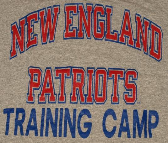 Rayon New England Patriots Training Camp Champion T-Shirt