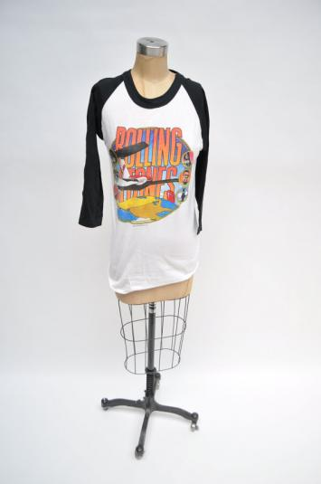 ROLLING STONES rock shirt 1981