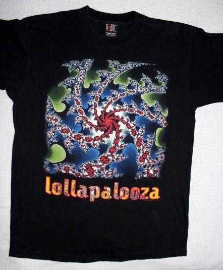 Lollapalooza 1993 tour shirt