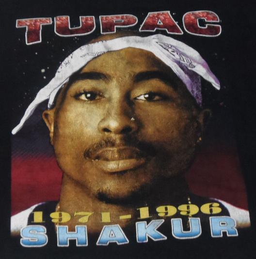 VINTAGE Tupac 2pac XL T-Shirt Against All Odds