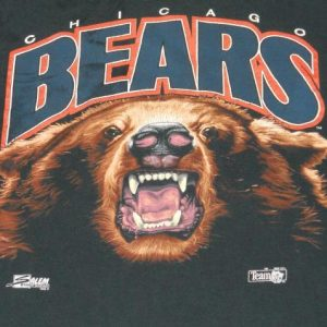 92' Chicago Bears NFL Football Grizzly
