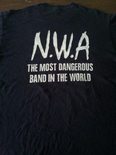 N.W.A `EFIL4ZAGGIN` Long Sleeve