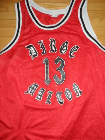 Dirge Basketball Jersey