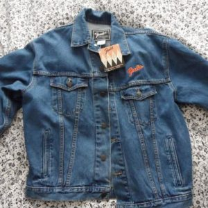 Fender 50th anniversary denim jacket