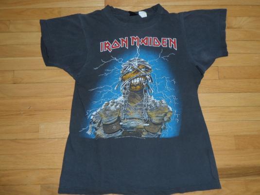 Iron Maiden Powerslave vintage tour T