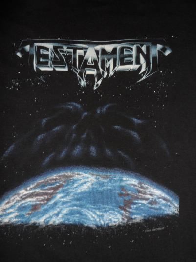 Testament New world Order Tour vintage shirt 1988