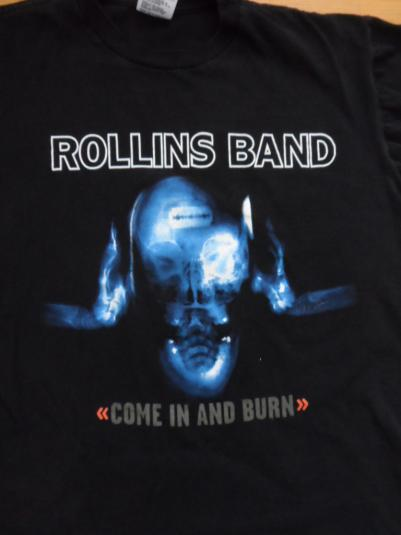 Rollins band tee