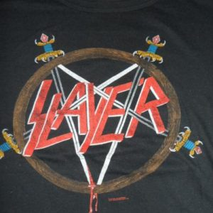 Vintage Slayer tour tee