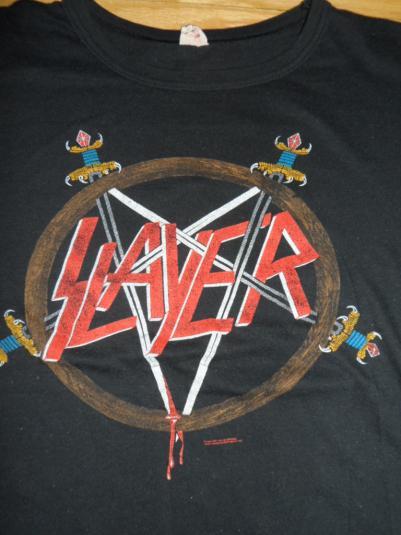 Vintage Slayer tour tee