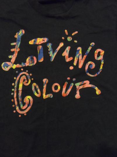 Living Colour Vintage tour T