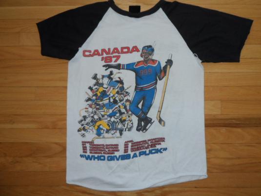 Vintage Iron Maiden Canadian tour T