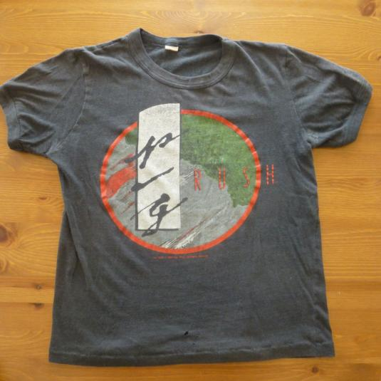Rush 1984 Tour shirt