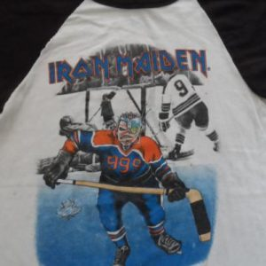 Vintage Iron Maiden Canadian tour T