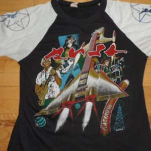 Vintage Rush 80's head shop T