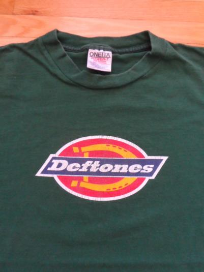 Deftones tour tee